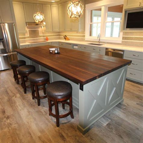 10 kitchen island 55 great ideas for kitchen islands the popular home