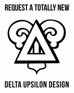 Adam block design delta upsilon for Delta upsilon letters