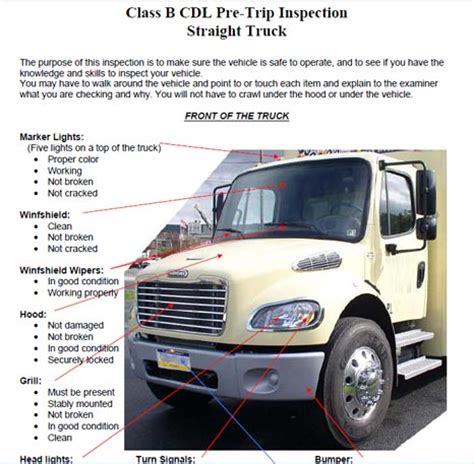 nys inspection check engine light waiver some more info about cdl pre trip inspection checklist form