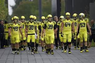 Oregon Ducks Football Uniforms
