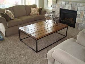 reclaimed wood coffee table design images photos pictures With polished wood coffee table