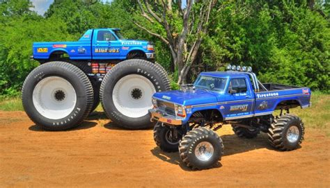 bigfoot monster truck bigfoot 1 monster truck restoration complete