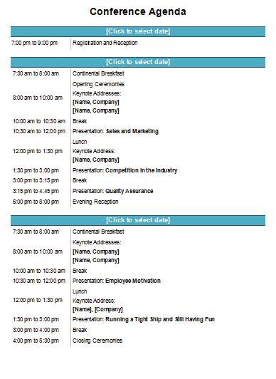 meeting agenda templates   meeting