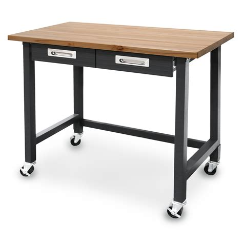 seville classics workbenches lighted table roller movable