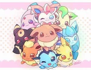 OMG CHIBI EEVEELUTIONS THEY ARE SO CUTE WHAT IF YOU SAW ...