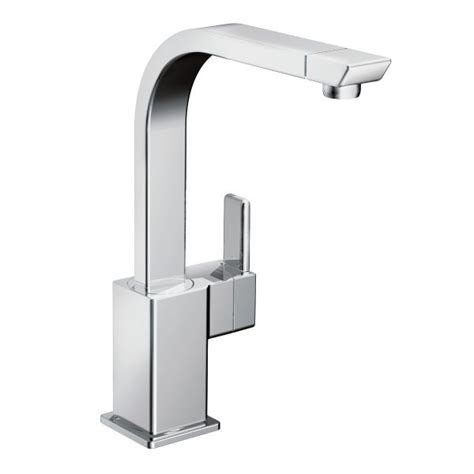 90 degree chrome one handle high arc kitchen faucet s7170 moen