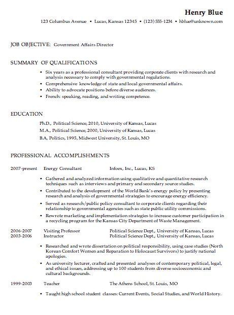 government resume templates printable templates free