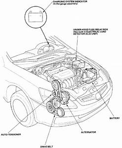 How Do Install The Serpentine Belt On A 2004 Honda Accord