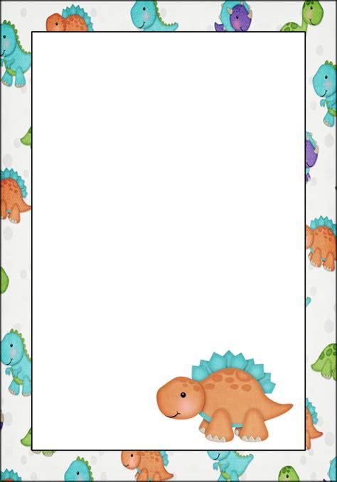 marcos invitaciones tarjetas o etiquetas de dinosaurios beb 233 s para imprimir gratis oh my beb 233