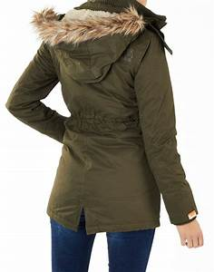 Superdry parka dames