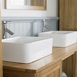 Meuble double vasque de design moderne en 60 exemples for Meuble salle de bain double vasque à poser