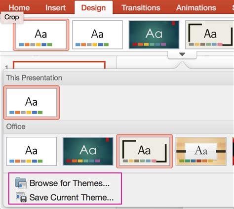 save  powerpoint template   theme   save