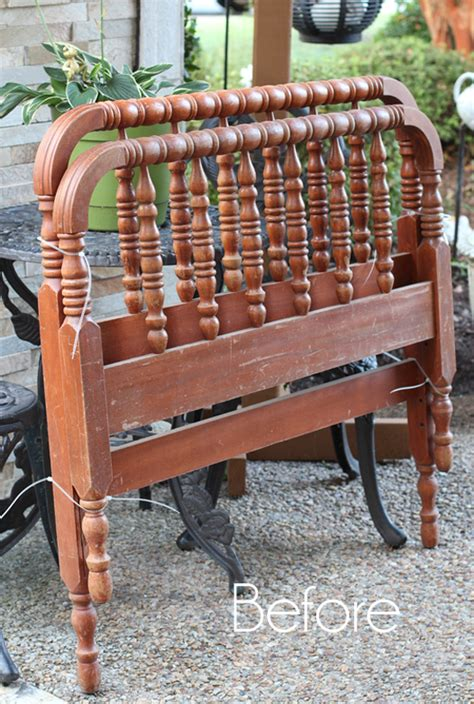 Bed Into Bench by Diy Spindle Headboard Bench Confessions Of A Serial Do