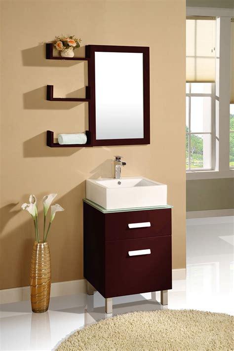 Modern Bathroom Vanity Mirrors by Aqua Decor Cabritzo 20 Inch Modern Bathroom Vanity Set W