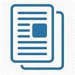 Icon Documentation Icons Publication Copy Grey Paper