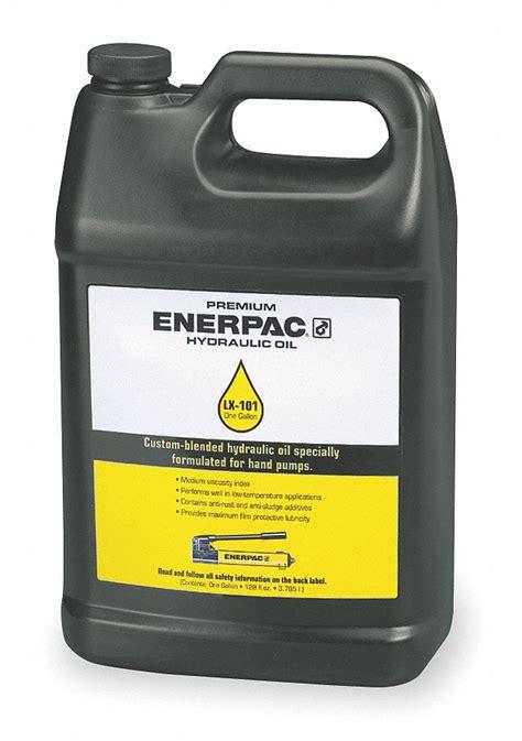 enerpac hydraulic oil  gal jug iso viscosity grade
