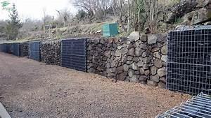 Mur De Cloture En Gabion : mur de cloture en gabion ~ Edinachiropracticcenter.com Idées de Décoration
