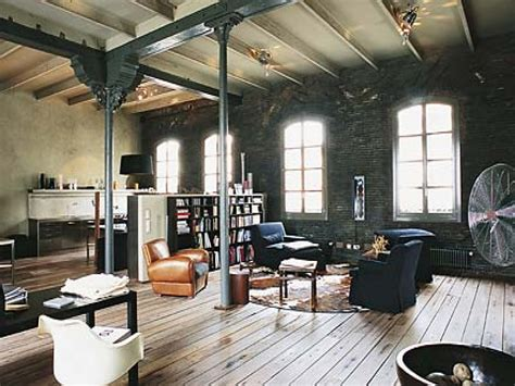 Industrial Home Style : Rustic Industrial Interior Design Industrial Style
