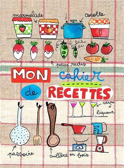 cahier de cuisine vierge mon cahier de recettes pour la cuisine maki papier recyclé