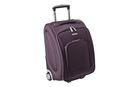 small spinner seat luggage the best underseat luggage to carry on travel leisure