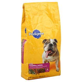 pedigree healthy joints dry dog food  lb bag pet