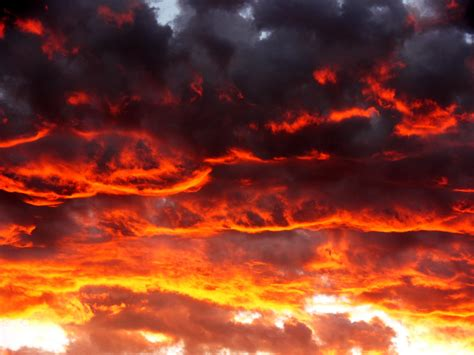 red clouds  sunset  stock photo public domain pictures