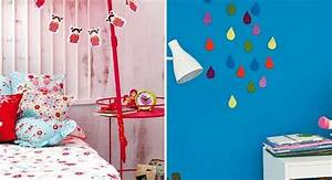 DIY kids room decoration projects- Cute rainy clouds or