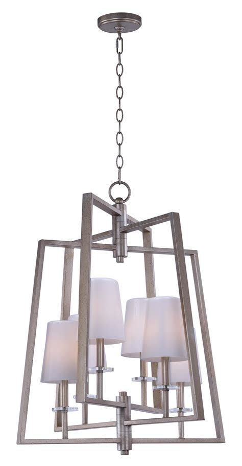 swing 6 light chandelier single tier chandelier maxim
