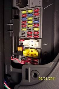 2008 Jeep Wrangler Fuse Box Location