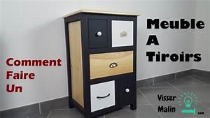 comment fabriquer un meuble a tiroirs ep32 youtube With meuble bijoux