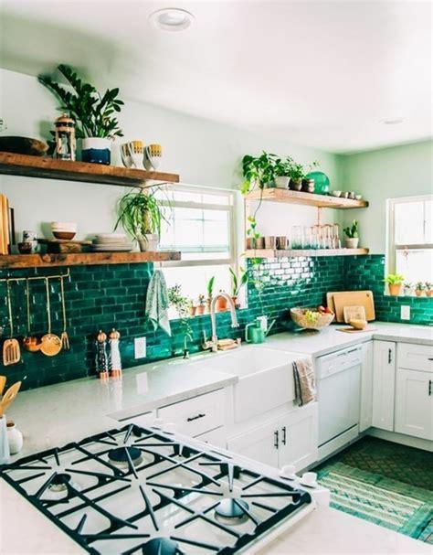 cuisine vert couleur peinture cuisine 66 idées fantastiques