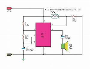 Light Detector Using Ic