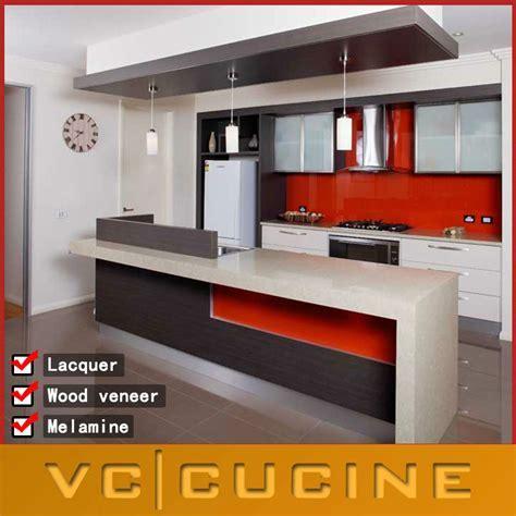 Lecong Modular High Gloss Lacquer Kitchen Cabinet Doors