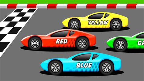 Kinds Of Race Cars by Learn The Colors With Racing Cars