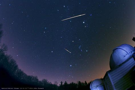Meteor Shower Dates