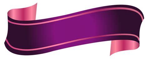 purple banner transparent png png svg clip art  web