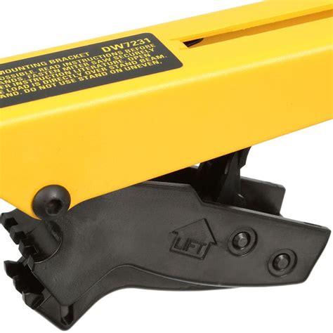 dewalt miter  workstation tool mounting brackets