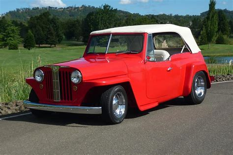 1949 Willys Jeepster Custom Convertible161917