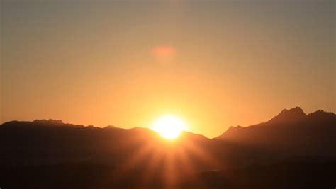 Time Lapse of Beautiful Sunrise Stock Footage Video (100% ...