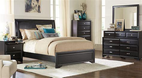 belcourt black 5 pc king upholstered bedroom king bedroom sets black
