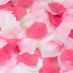 flower petals for wedding wedding decorations pink petals