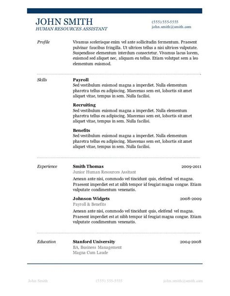 Microsoft Word Resume Builder by 7 Free Resume Templates Gt Career Microsoft Resume