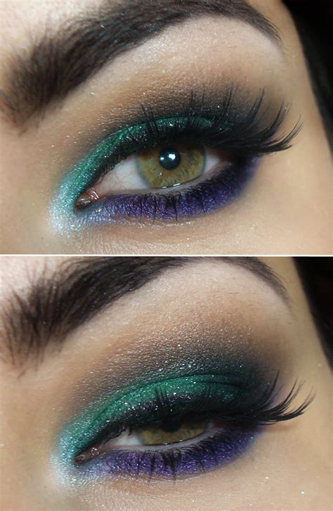 dramatic colorful makeup tutorials