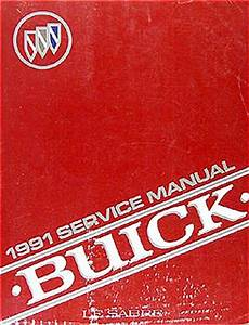 1991 Buick Lesabre Shop Manual 91 Custom Limited Repair