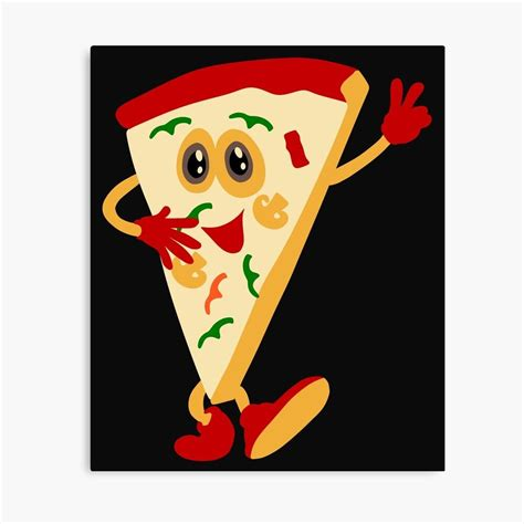 'Funny Pizza Lover Tees' Canvas Print by Bettylop in 2020 ...