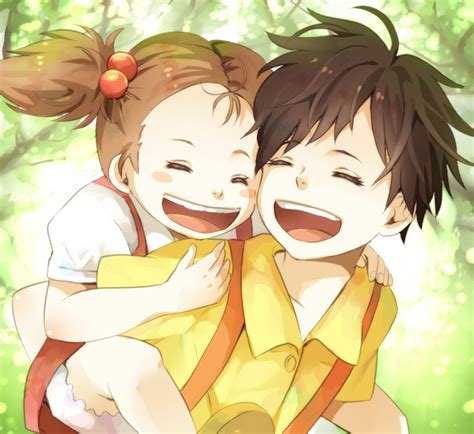 My Neighbor Totoro Images Satsuki And Mei Wallpaper And