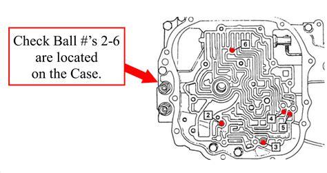 4t65e Diagram Checkball by Sonnax Gm 125c Checkball Locations