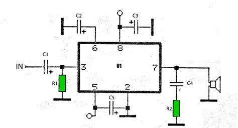 Car Audio Amplifier Schematic Circuits Gambar Skema