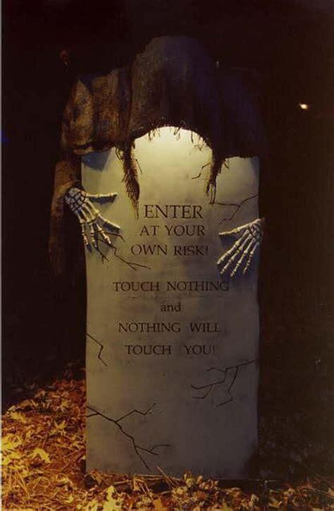 outdoor tombstone halloween decorations homemydesign