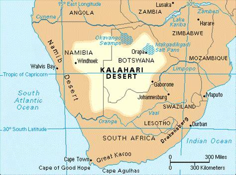 d 233 sert de kalahari afrique du sud voyages cartes